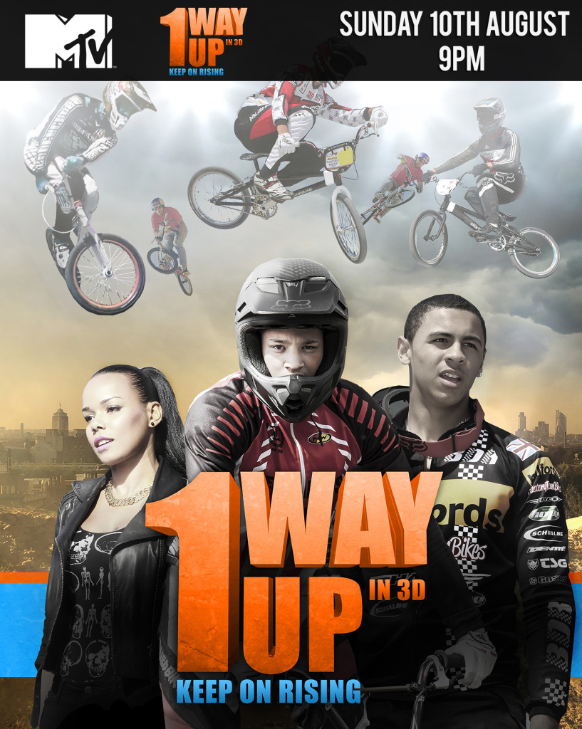 1 Way Up on MTV UK Aug 10