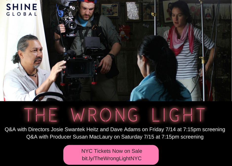 Tickets on sale for NYC Premiere of The Wrong Light July 14th
