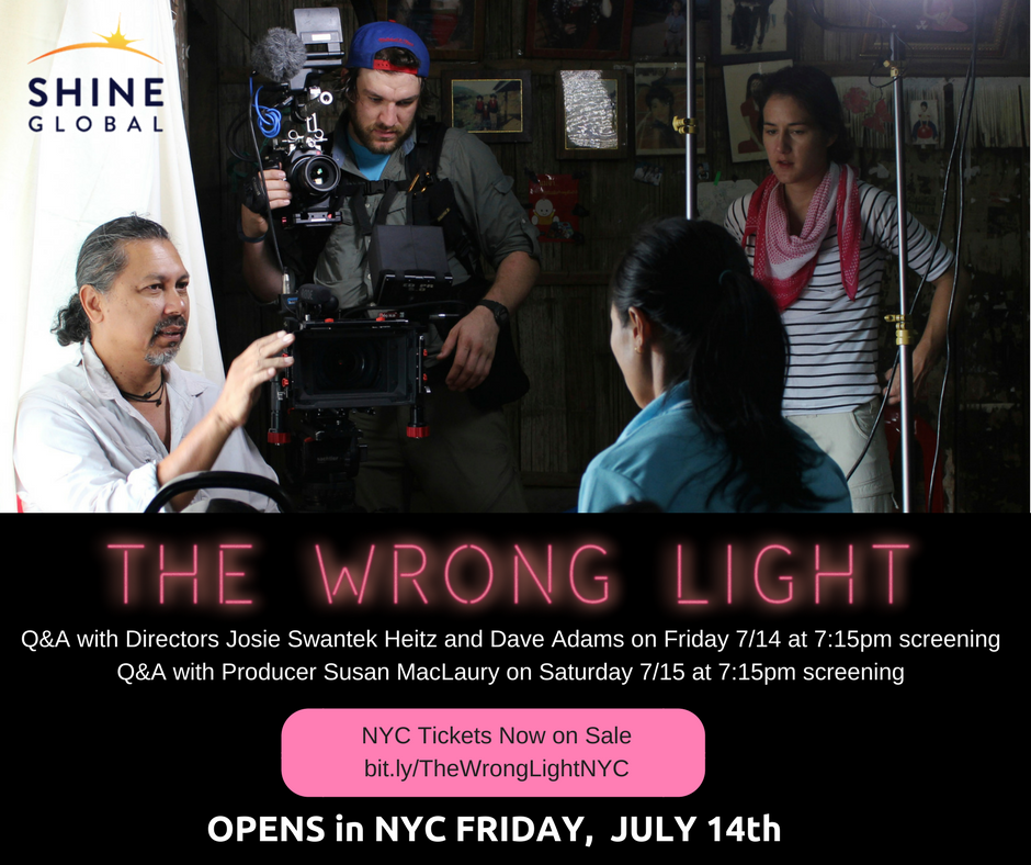 Tickets on Sale The Wrong Light in NYC with Director Q&A