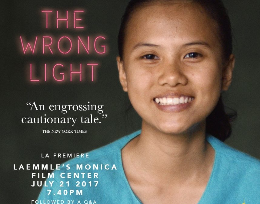 The Wrong Light opens July 21st in LA and playing in NY